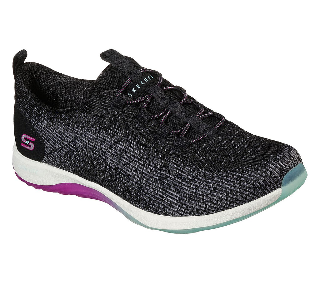 Skechers Womens Groovy Lite Sport Active Shoes - 104235-BKAQ