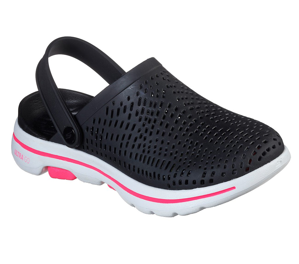 Skechers Cali Gear Foamies Womens Go Walk 5 - 111103-BKW