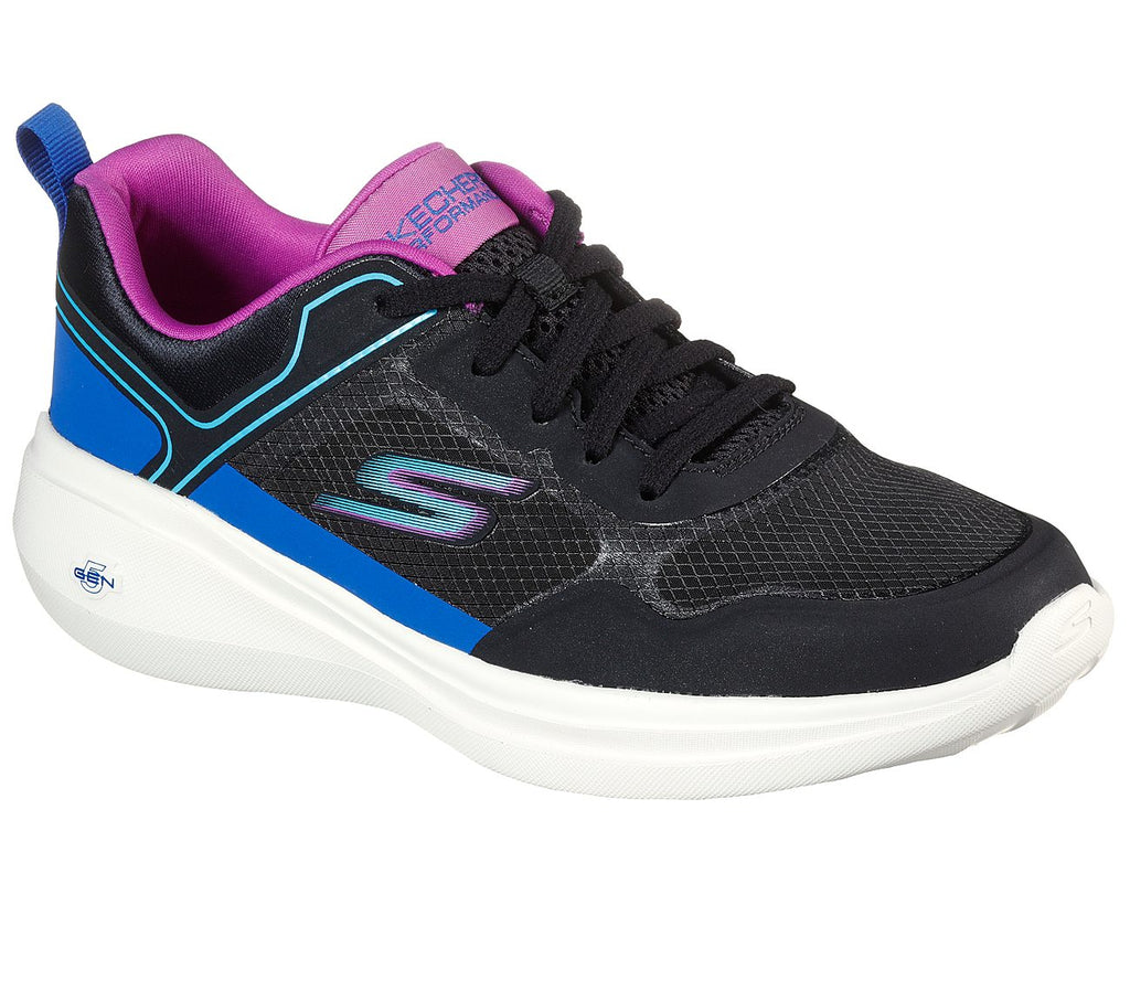 Skechers Womens Go Run Fast Performance Womens Shoes - 128179-BKMT