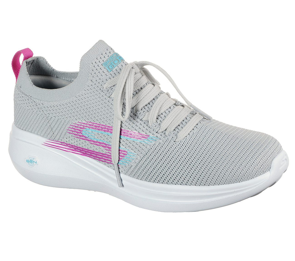Skechers Womens Go Run Fast Performance Womens Shoes - 128186-LGPR