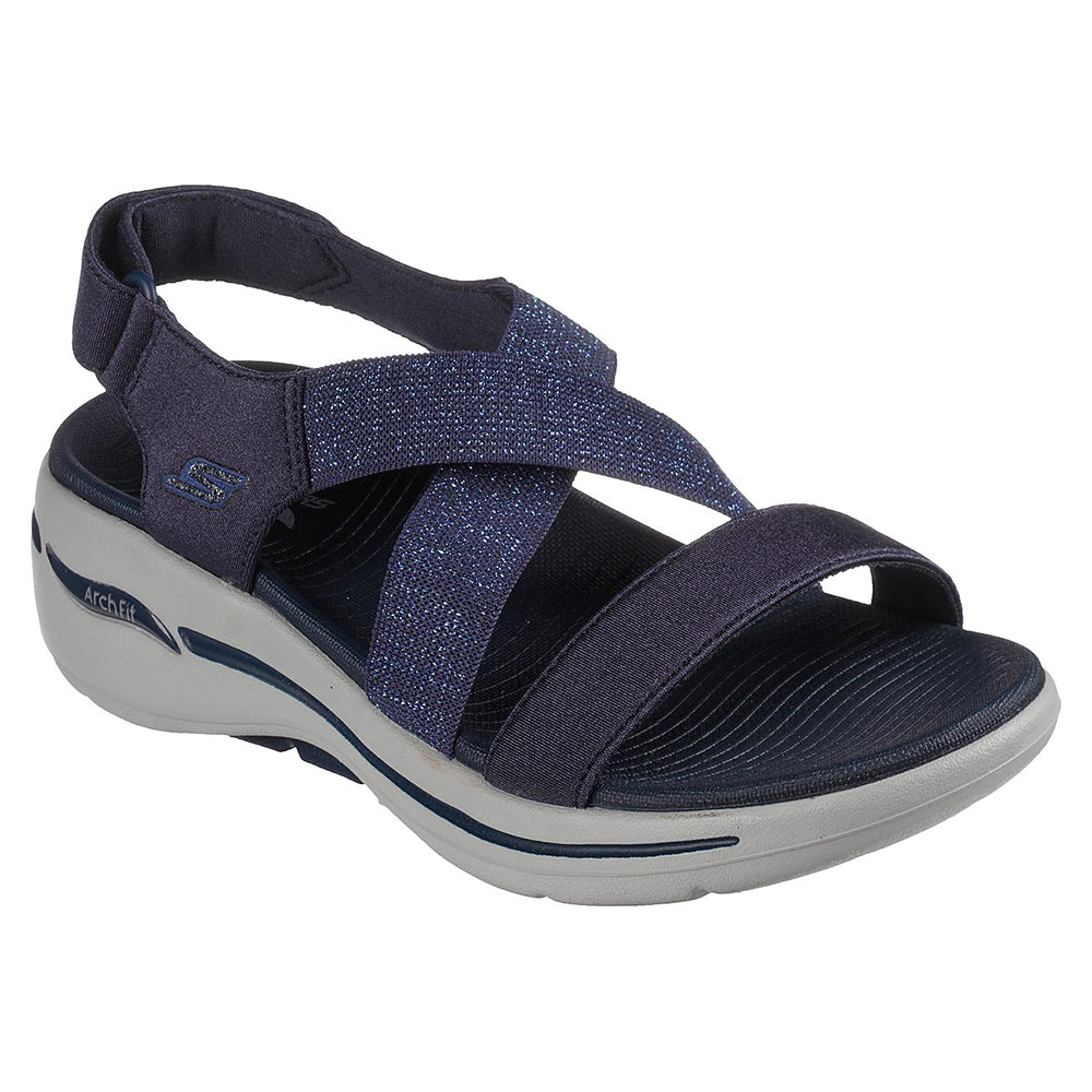 Skechers Women Go Walk Arch Fit O-T-G Womens Sandals - 140226-NVY