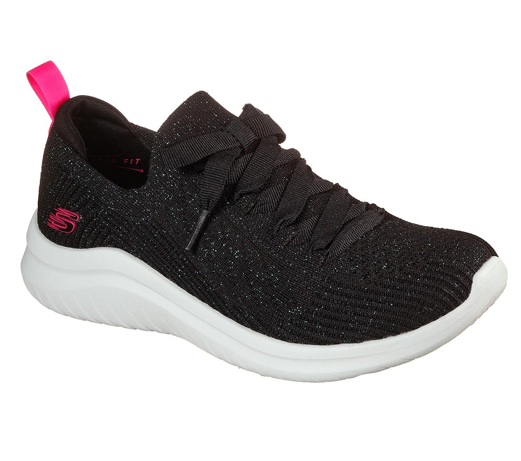 Skechers Sport Womens Ultra Flex 2.0 149184-BKLB