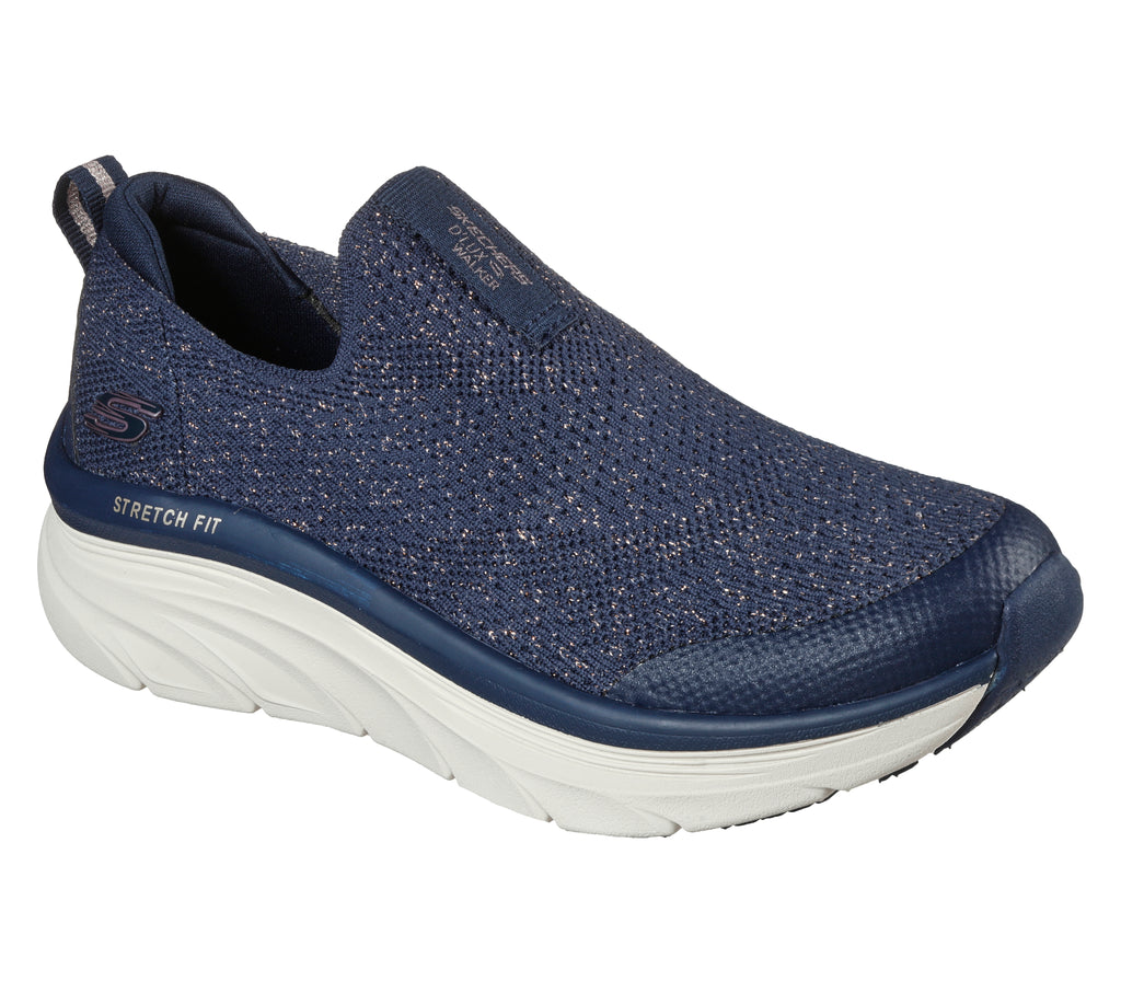 Skechers Womens D'Lux Walker Sport Womens Shoes - 149310-NVRG
