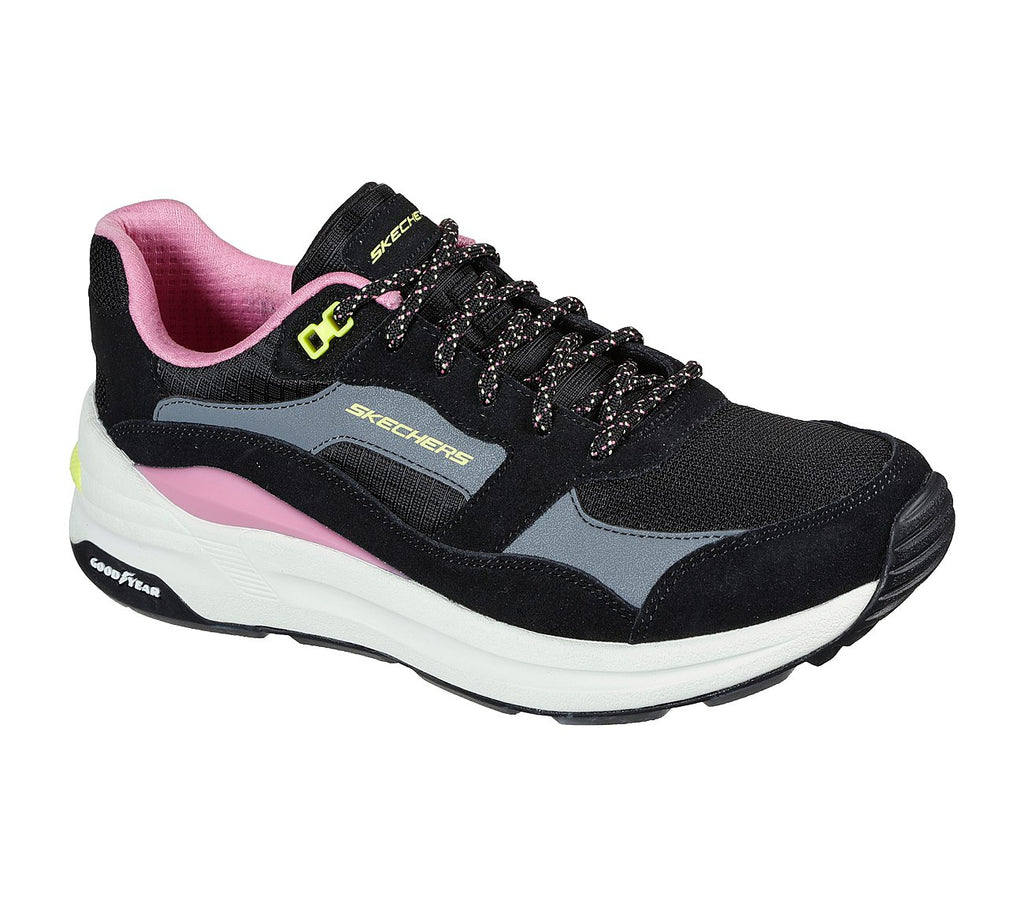 Skechers Womens Good Year Global Jogger Sport Womens Shoes - 149626-BKMT