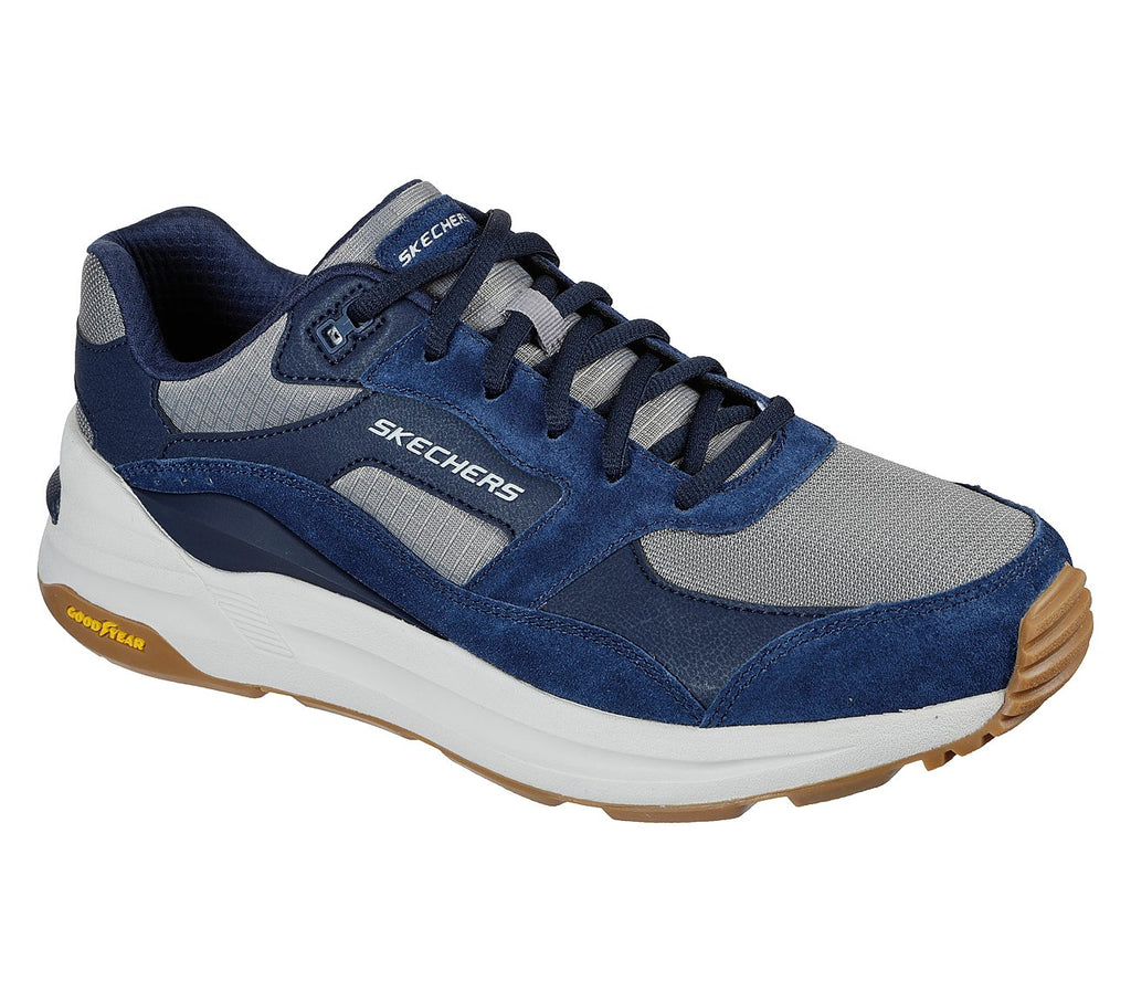 Skechers Mens Good Year Global Jogger Mens Sport Casual Shoes - 237200-NVGY