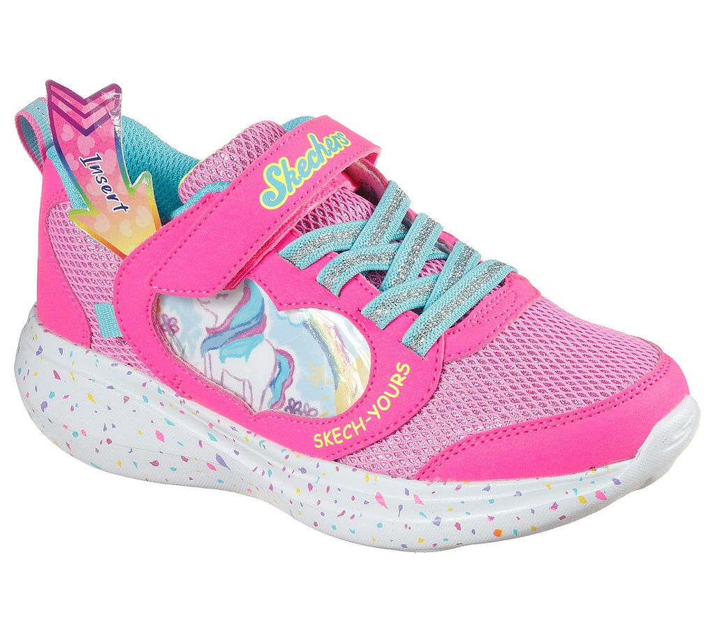 Skechers Girl Go Run Fast Shoes 302205L-PNK