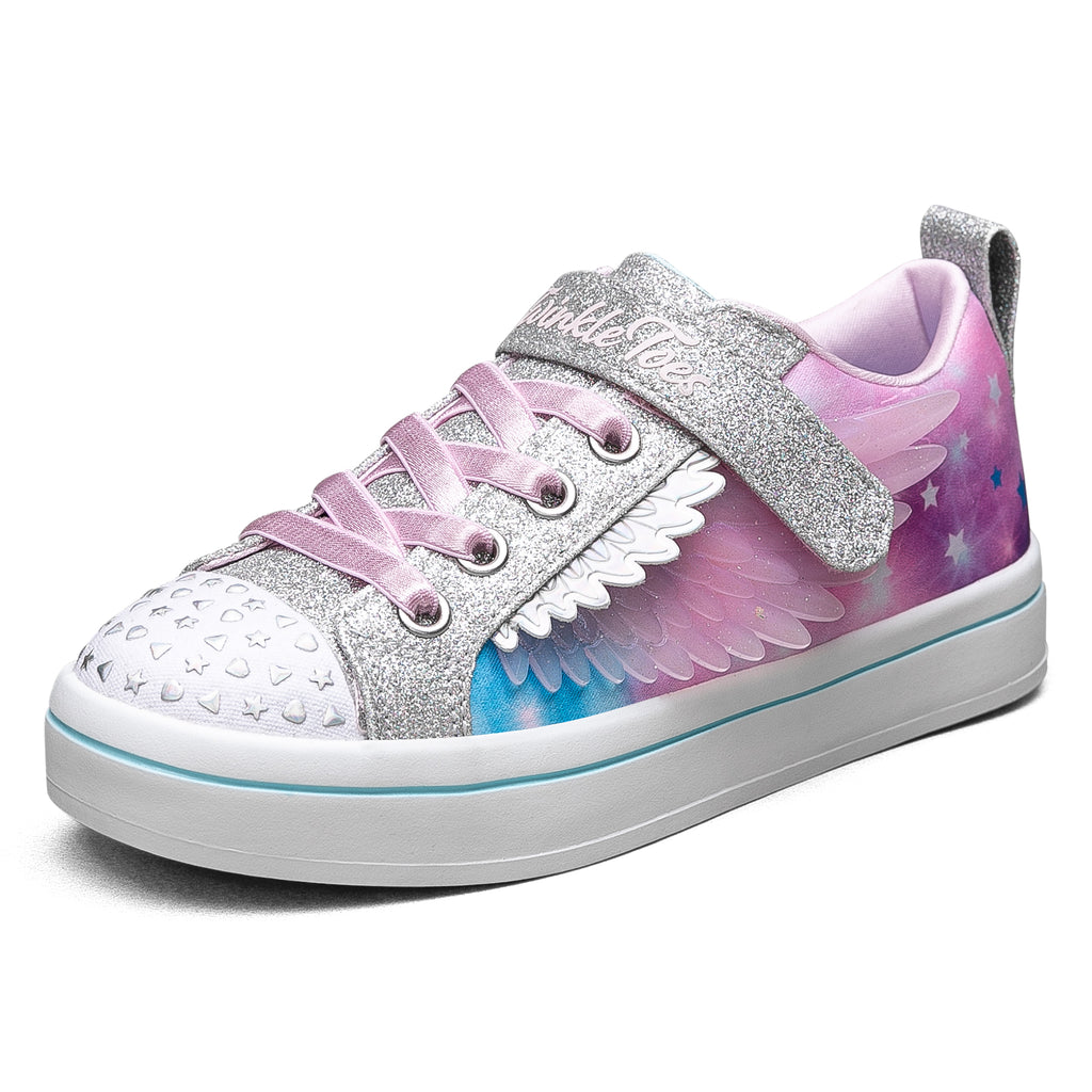 Skechers Girls Twi-Lites 2.0 Twinkle Toes Shoes - 314432L-SMLT
