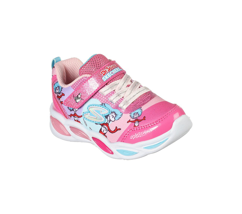 Skechers Girls Dr. Seuss Shimmer Beams Skechers Girls Shoes - 314988N-PKMT