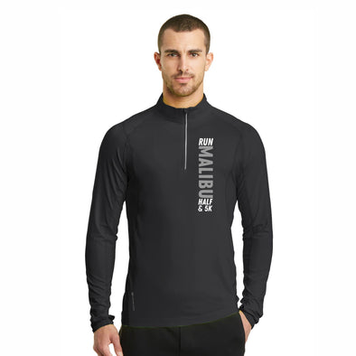 LCP Vertical Men's Tech OGIO 1/4 Zip - Blacktop