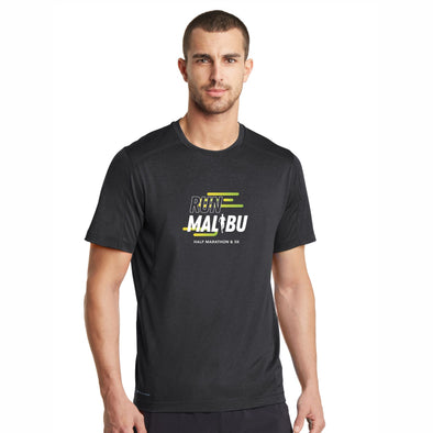 'In Training 2021' Men's Tech SS OGIO Tee - Blacktop