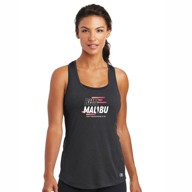 'In Training 2021' Women's Tech Racerback OGIO Singlet - Blacktop