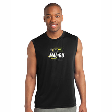 'In Training 2021' Men's Tech Tank - Black