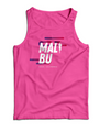 'Malibu' Men's Rayon Blend Muscle Tank - Pink