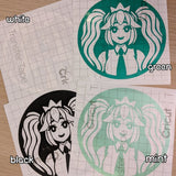 Miku Vinyl Decal