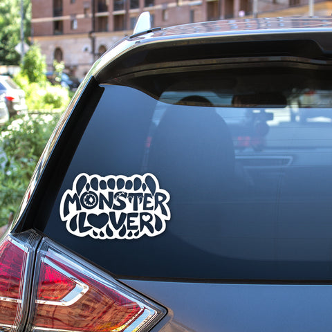 Monster Lover Vinyl Decal