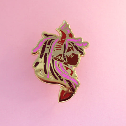 Demon Girl Pin