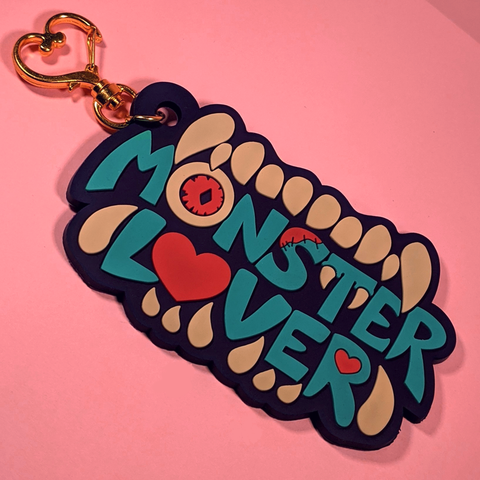 Monster Lover Keychain