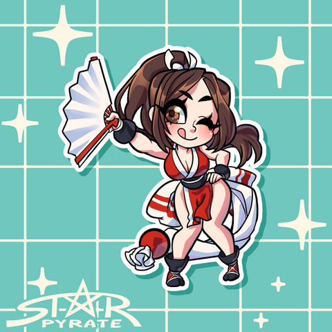 !! RETIRED !! Mai Shiranui Sticker