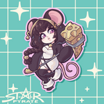 Rat Kemonomimi Sticker