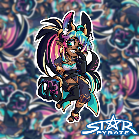 Thief Starpy Sticker