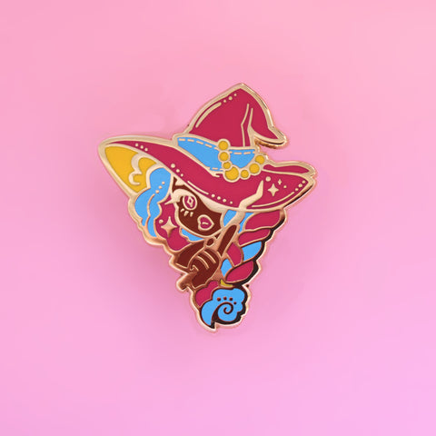 Pan Witch Pin