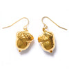 Acorn Earrings- Gold