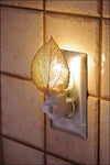 Cottonwood Leaf Nightlight- Iridescent Copper