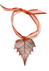 Birch Leaf Ornament- Iridescent Copper