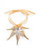 Japanese Maple Leaf Double Ornament- Gold & Silver