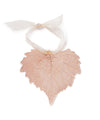 Cottonwood Leaf Ornament- Rose Gold