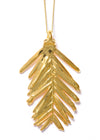 Redwood Needle Necklace- Gold