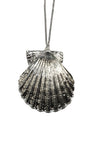 Clam Shell Necklace- Silver