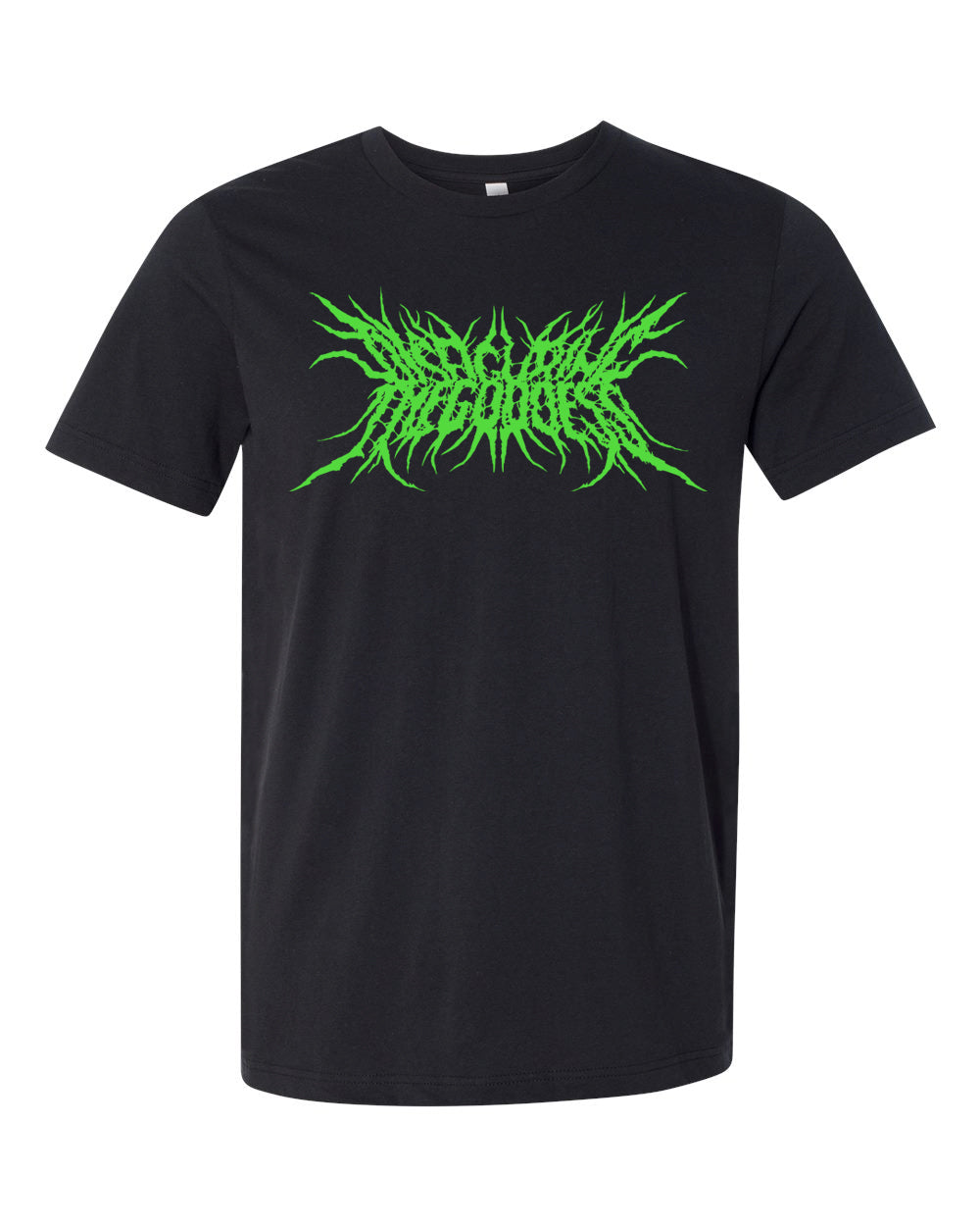 Disfiguring The Goddess Logo Shirt (Green Glow)