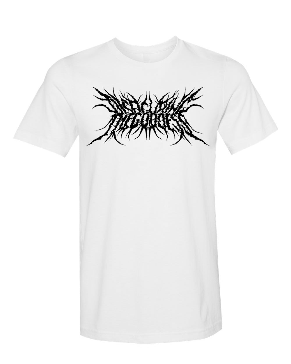 Disfiguring The Goddess Logo Shirt (White / Black)