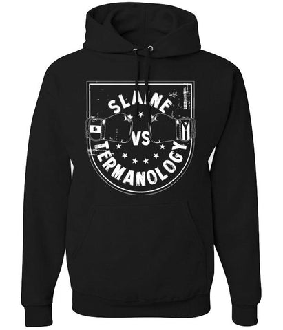 Slaine VS Termanology Slaine VS Term Pullover Hooded Sweatshirt