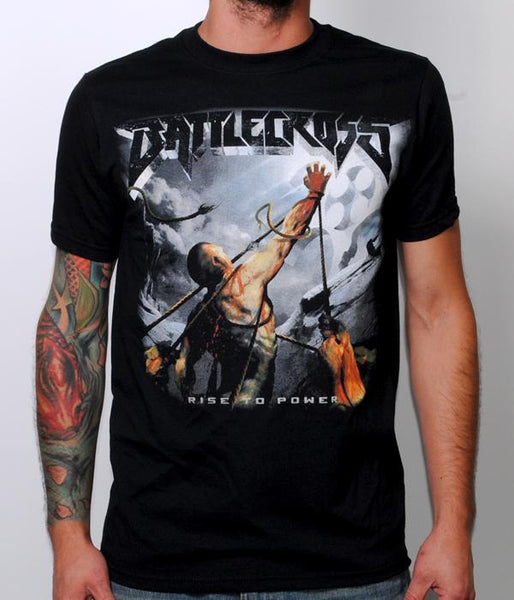 Battlecross Rise To Power 2015 Canadian Tour Shirt
