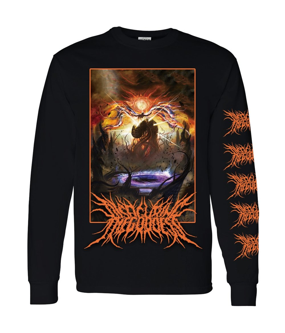Disfiguring The Goddess Katapillar Long Sleeve Shirt