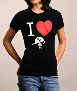 Evidence I Heart EV Womens Shirt (Black)