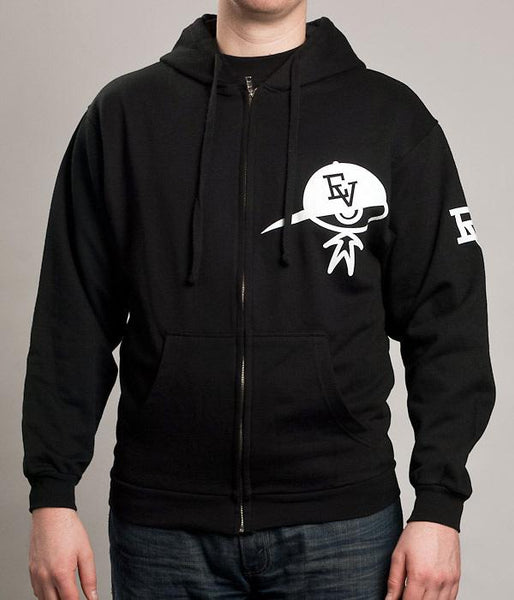 Evidence Man Zip Hooded Sweatshirt