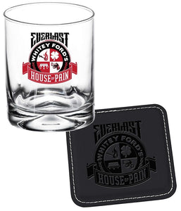 Everlast Whitey Ford's House Of Pain Rock Glass & Coaster