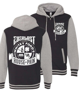 Everlast Whitey Ford's House Of Pain Varsity Zip Hooded Sweatshirt