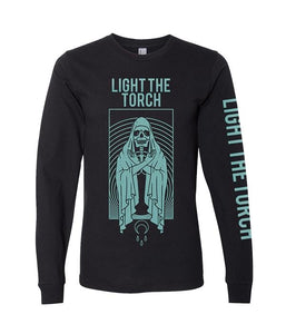 Light The Torch Grim Moon Long Sleeve Shirt