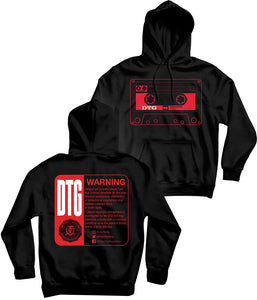 Disfiguring The Goddess Warning Hooded Sweatshirt