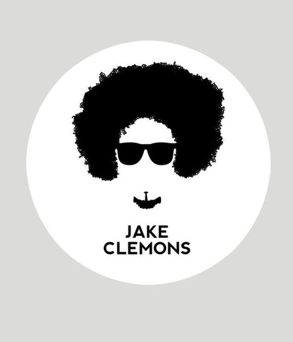 Jake Clemons Face Sticker