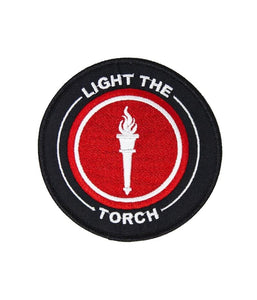 Light The Torch Logo Patch