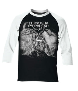 Through The Eyes Of The Dead Disomus Cover Raglan Shirt
