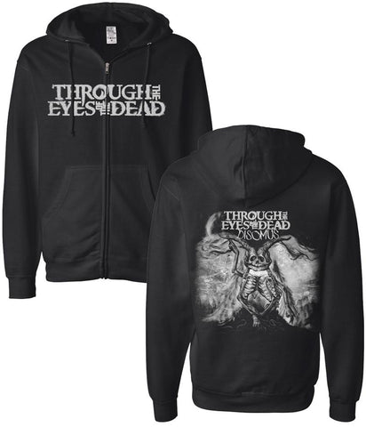 Through The Eyes Of The Dead Disomus Zip Hooded Sweatshirt