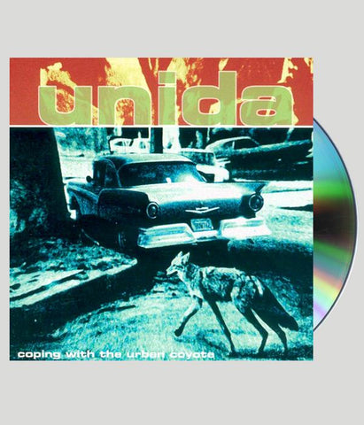 Unida Coping With The Urban Coyote CD w/ Bonus Tracks