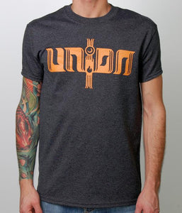 Unida Orange & Grey Shirt