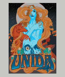 Unida AU and NZ 2013 Tour Poster